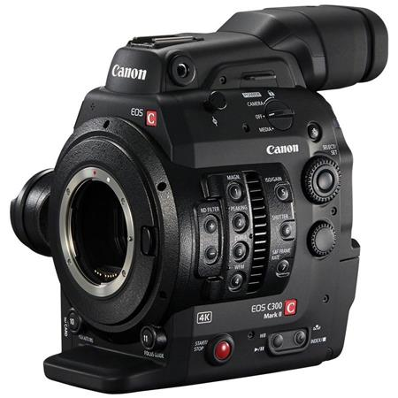 Canon EOS C300 Mark II Cinema EOS Camcorder Body, EF Lens Mount