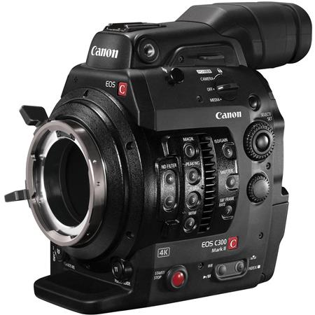 | Canon EOS C300 Mark II Cinema EOS Camcorder Body   PL Lens Mount