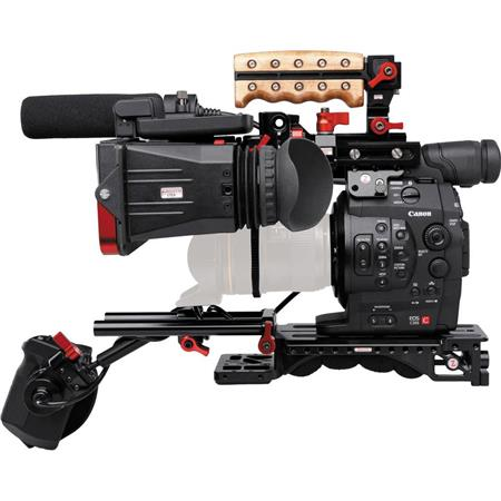 Canon EOS C300 Cinema EOS Camcorder Body with Dual Pixel CMOS AF Feature Upgrade & Zacuto C300 Z-Finder Recoil - EF Lens Mount