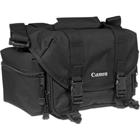 Canon 2400 Camera Gadget Bag Holds up to One SLR Body plus 1 to 2 Lenses & Accessories, Black.
