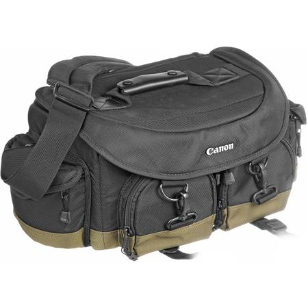Canon Professional Gadget Bag 1-EG, Black with Olive Trim.