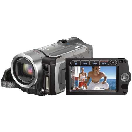 "Canon VIXIA HF100 High Definition Flash Memory Camcorder with 12x Optical Zoom, 200x Digital Zoom, 2.7"" LCD Screen image"