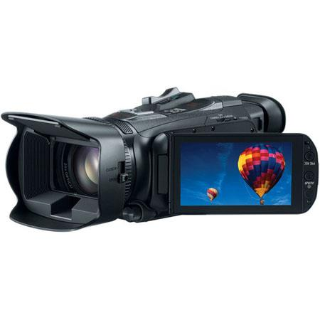 Canon VIXIA HF G30 Full HD Camcorder, 2.91 Megapixel, Built-in Wi-Fi, 20x Optical / 400x Digital Video Lens, Dual SD Card Slots, Dynamic SuperRange Optical Stabilization