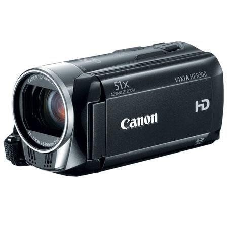 Canon VIXIA HF R300 High Definition Flash Memory Camcorder - Refurbished