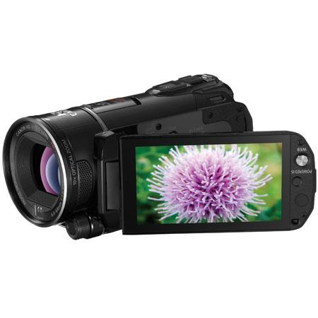 "Canon VIXIA HF S200 Flash Memory Camcorder with 10x Optical Zoom, 200x Digital Zoom, 3.5"" Hi-Res Touch Panel Widescreen Color LCD image"