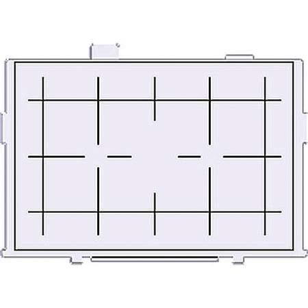 Canon EG-D Grid Focusing Screen for the EOS-5D Mark II Digital SLR Camera