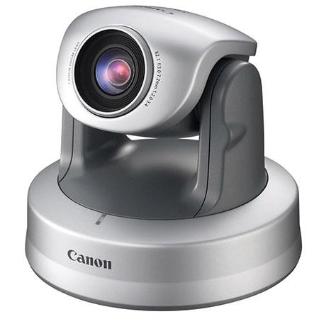 Canon VB-C300 Wide Angle PTZ Network Camera, 2.4x Optical/4x Digital Zoom, 2-Way Audio, PoE (Power over Ethernet)