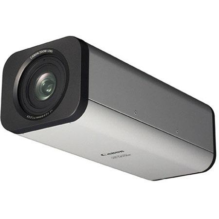 Canon VB-M700F Network Video Security Camera, 1.3MP, 3x Optical Zoom, Auto Day/Night Capability, Progressive Scan, Smart Shade Control