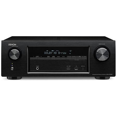 Denon AVR-X1100W 7.2 Channel In-command Receiver with Bluetooth, 6 HDMI Inputs, Built-in Wi-Fi & AirPlay, 145W Output Power, 4K Ultra HD
