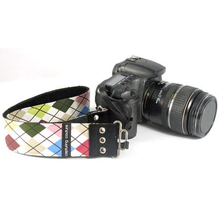 "Camera Straps by Capturing Couture: Men's Collection, The Caddy 2"" SLR/DSLR Camera Fashion Strap"