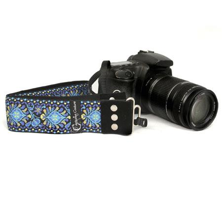 "Camera Straps by Capturing Couture: The Symphony 2"" DSLR/SLR Fashion Camera Strap"