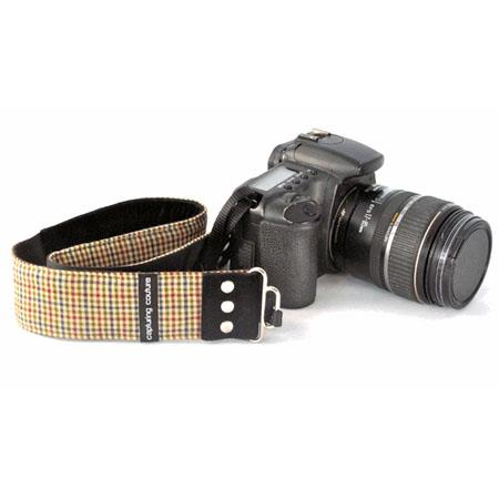 "Camera Straps by Capturing Couture: Men's Collection, The Aaron 2"" SLR/DSLR Fashion Camera Strap"