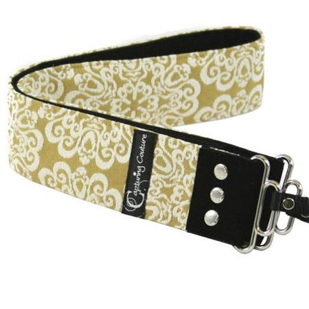 "Camera Straps by Capturing Couture: Serenity Collection, The Moss 2"" DSLR/SLR Fashion Camera Strap"