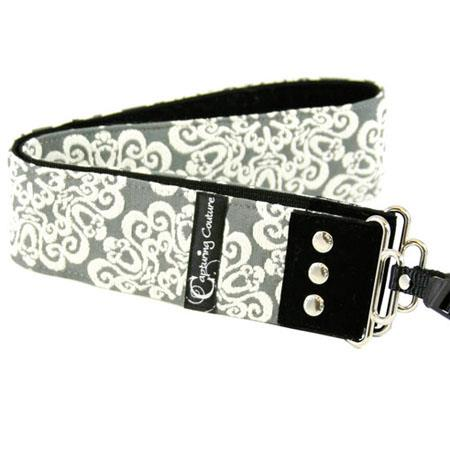 "Camera Straps by Capturing Couture: Serenity Collection, The Rock 2"" DSLR/SLR Fashion Camera Strap"