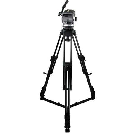 Cartoni Laser AL 2 System, with Laser Head, 2-Stage Aluminum Tripod with On-Ground Spreader & Soft Case, Supports 10 to 22 lbs.