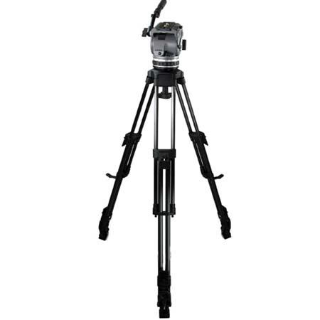 Cartoni Laser CF 1 /ML System, with Laser Head, 1-Stage Carbon Fiber Tripod with Mid-Level Spreader & Soft Case, Supports 10 to 22 lbs.
