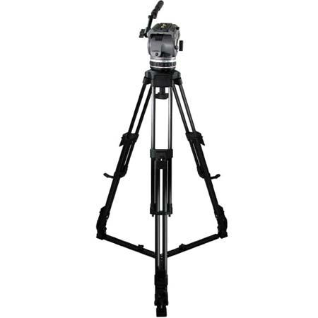 Cartoni Laser CF 1 System, with Laser Head, 1-Stage Carbon Fiber Tripod with On-Ground Spreader & Soft Case, Supports 10 to 22 lbs.