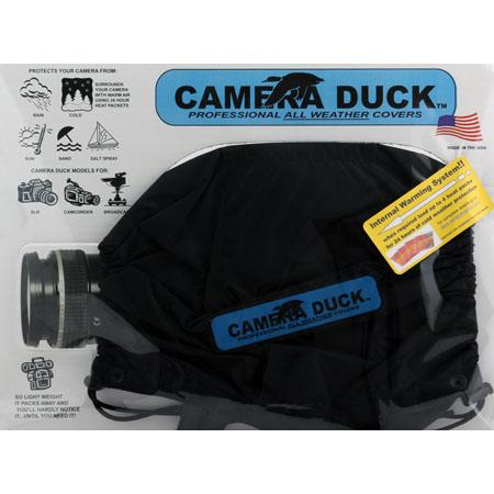 Camera Duck Standard SLR / DSLR Cover only (without warmer packs) - Black image