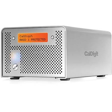 CalDigit VR 2 TB 2 Drive Media RAID System with Firewire & USB Interface, for Mac & Windows.