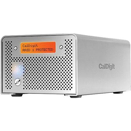 CalDigit VR 4 TB 2 Drive Media RAID System with FireWire and USB Interface for Mac and Windows