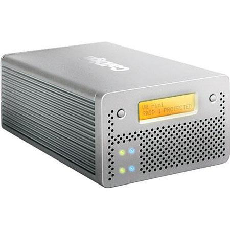 CalDigit VR Mini 1 TB 2 Drive Media RAID System with Firewire & USB Interface, for Mac & Windows