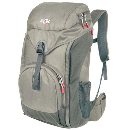 Clik Elite Escape, Flexible Mobile Compact BackPack with Built-in ChestPorts, Gray image