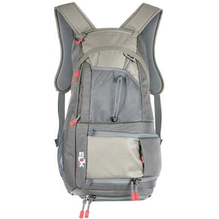 Clik Elite Probody Sport Compact BackPack with Fully Padded Camera Bay, Comfort-Molded Back Panel, Gray image