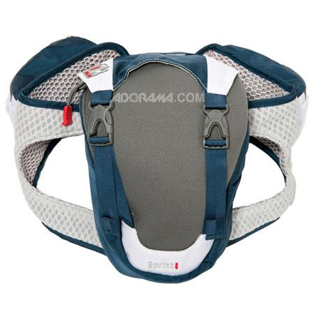 Clik Elite Sprint Waist Pack with Breathable Padded Waist Belt, Blue
