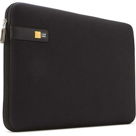"Case Logic LAPS-117 17-17.3"" Laptop Sleeve, Color: Black."