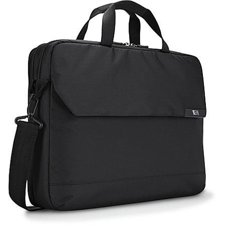 "Case Logic MLC-116 16"" Laptop and 10.1"" Tablet Case, Color: Black."