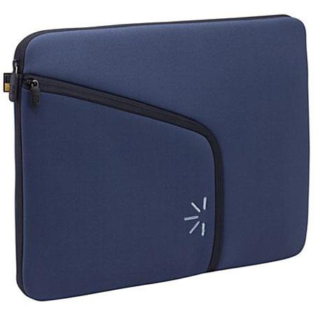 "Case Logic 16"" Form Fitting Neoprene Laptop Sleeve, Color: Blue image"