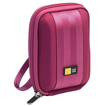 Case Logic QPB-201 Compact Photo / Video Camera Case, Magenta