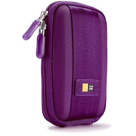 Case Logic Point and Shoot Camera Case, Color: Purple.