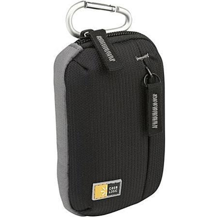 Case Logic Ultra Compact Camera Case for Digital Point & Shoots, Color: Black.