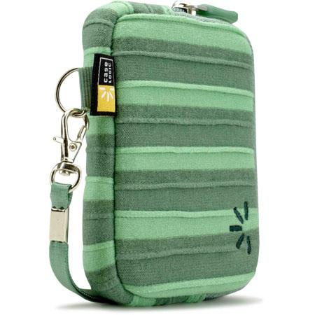 Case Logic UNZT-202 Point and Shoot Camera Case, Color: Green.