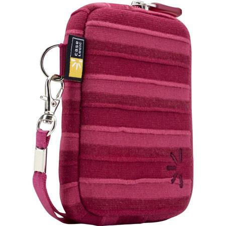 Case Logic UNZT-202 Point and Shoot Camera Case, Color: Pink.
