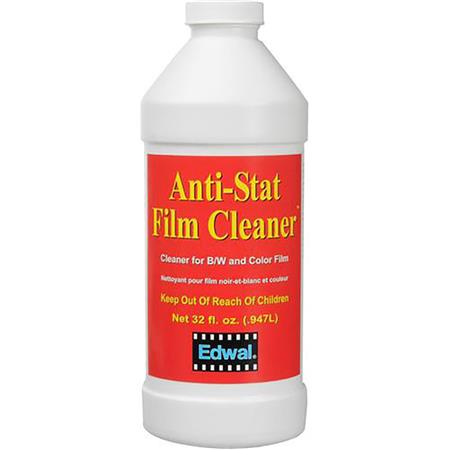 Edwal Anti-Stat Film Cleaner, for Black & White and Color Films, 32 Oz. Can image