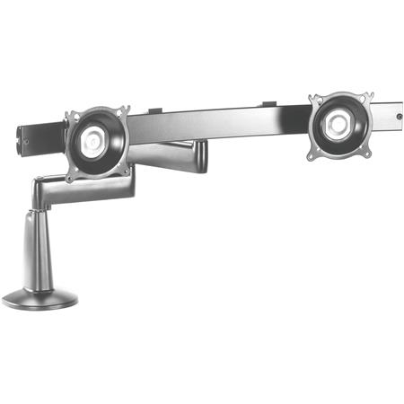 Chief KCD220 Dual Arm Desk Mount, Dual Monitor, Silver