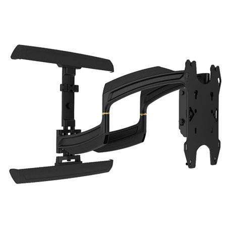 "Chief TS325TU Medium THINSTALL Dual Swing Arm Wall Mount, 25"" Extension, 75 lbs Load Capacity, Dual Stud"