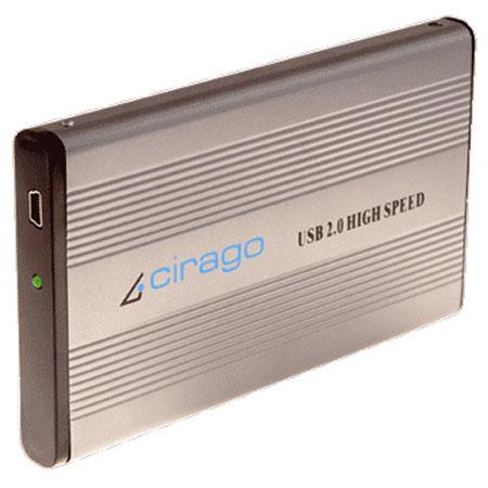 Cirago CST1640 640GB Plug and Play Portable Storage, High Speed USB 2.0 Interface