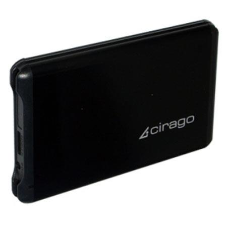 Cirago CST6064 640GB Plug and Play USB 3.0 Portable External Hard Drive, LED Power Indicator