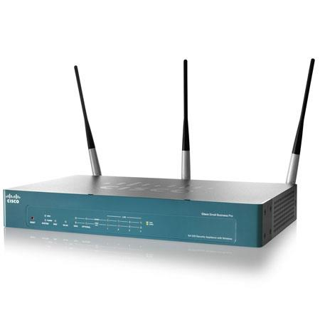 Cisco SA 520W-K9 Wireless Security Appliance with IPS and ProtectLink Web Licenses, 3 Years, 6 Ethernet Ports, 100 Users, DES/3DES/AES Encryption