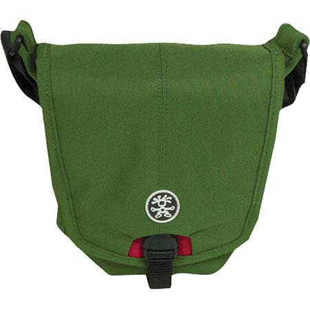 Crumpler 2 Million Dollar Home Shoulder Bag for Large Ultra Zoom Digital Camera, Olive / Red image