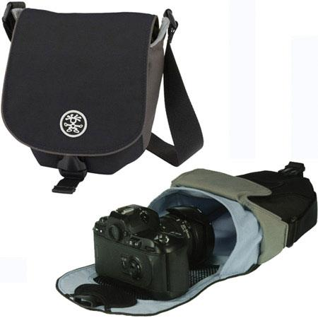 Crumpler 3 Million Dollar Home Photo Bag, Color: Black / Gun Metal / Lite Grey image