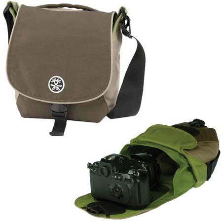 Crumpler 3 Million Dollar Home Photo Bag, Color: Dark Brown / Oatmeal / Pale Olive image