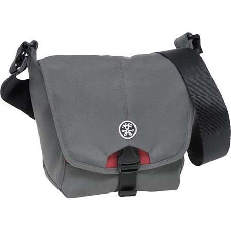 Crumpler 4 Million Dollar Home Shoulder Bag for Compact Digital SLR Camera, Grey/Red image