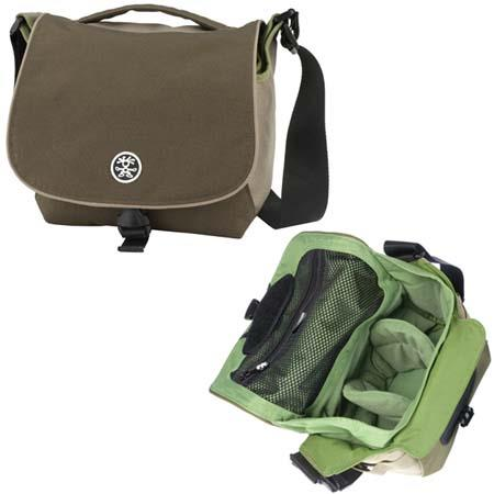 Crumpler 5 Million Dollar Home Photo Bag, Color: Dark Brown / Oatmeal / Pale Olive image