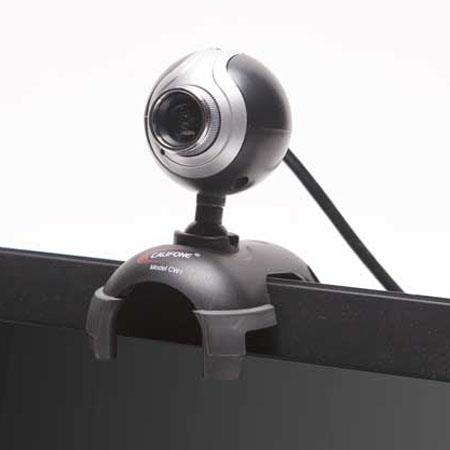 Califone CW1 USB Webcam, 640x480 Pixels, USB 2.0