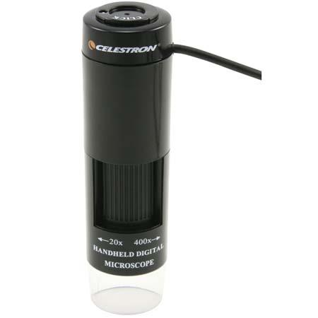 Celestron Handheld Digital Microscope (HDM), 400x Power, LED Illuminated, with USB Interface. image