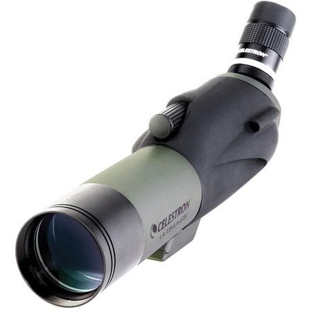 Celestron Ultima 65 Water Proof Spotting Scope with Angled 18-55x Zoom Eyepiece - Angle image